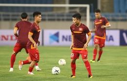ẢNH: ĐT Việt Nam tập làm quen sân Mỹ Đình, sẵn sàng cho trận gặp ĐT Malaysia