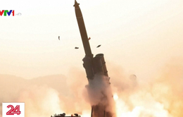 Triều Tiên thử thành công hệ thống phóng đa tên lửa siêu lớn