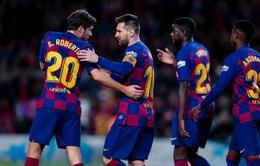 Kết quả, bảng xếp hạng La Liga ngày 10/11: Eibar 0-4 Real Madrid, Barcelona 4-1 Celta Vigo