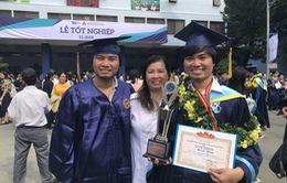 Anh em song sinh cùng tốt nghiệp xuất sắc trường ĐH Bách khoa TP.HCM