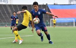 Thua U19 Malaysia, U19 Thái Lan bị loại ngay từ vòng loại U19 châu Á 2020