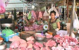Hà Nội: Giá bán lẻ thịt lợn lên mức kỷ lục