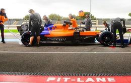 F1: McLaren thử nghiệm mẫu lốp mới cho mùa giải 2021