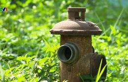 Hàng trăm trụ cứu hỏa… không có nước