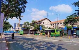Người dân đi xe bus sẽ được giữ xe miễn phí