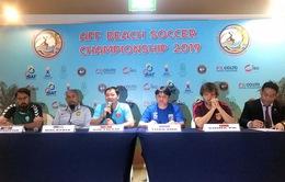 ĐT bóng đá bãi biển Việt Nam hướng tới ngôi vô địch Đông Nam Á