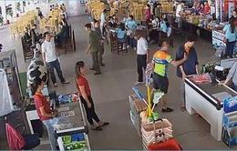 Đình chỉ Thượng úy công an hành hung nhân viên bán hàng ở Thái Nguyên