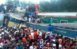 Tai nạn tàu hỏa tại Bangladesh, hàng chục người thương vong