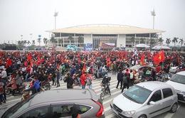 Trước giờ G trận ĐT Việt Nam – ĐT UAE: Sân Mỹ Đình mở cửa trước 4 tiếng, cảnh báo ách tắc vì sửa đường