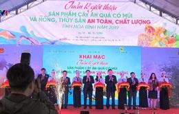 Quảng bá nông sản an toàn Hòa Bình tại Hà Nội