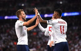 Kết quả, BXH vòng loại EURO 2020, ngày 15/11: ĐT Anh 7-0 ĐT Montenegro, ĐT Bồ Đào Nha 6-0 ĐT Litva