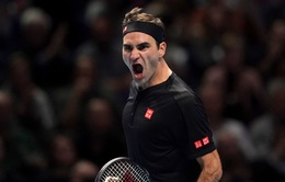 ATP Finals 2019: Roger Federer thắng thuyết phục Novak Djokovic
