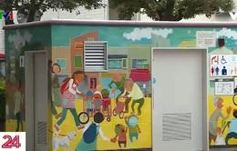 Nhà vệ sinh công cộng mang tính nghệ thuật tại Nhật Bản