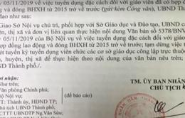 Nhận 2 công văn trái ngược trong cùng 1 ngày, giáo viên ở Hà Nội hoang mang