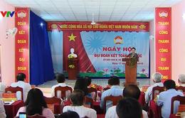Chủ tịch Quốc hội dự Ngày hội Đại đoàn kết toàn dân tộc tại Trà Vinh