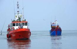 Cứu 6 thuyền viên gặp nạn trên biển
