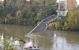 Sập cầu ở Pháp khiến 5 người thương vong