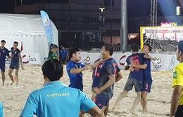 Thua chủ nhà Thái Lan, ĐT bóng đá bãi biển Việt Nam kết thúc giải với ngôi á quân