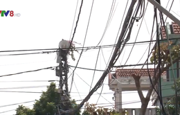 Điện lực Quảng Nam xử điểm đen cáp thông tin