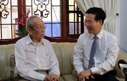 Trưởng ban Tuyên giáo Trung ương thăm, chúc mừng GS Trần Hồng Quân