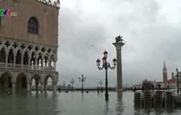 Venice chìm trong biển nước vì ngập lụt