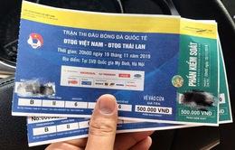 """Giá vé chợ đen trận Việt Nam - Thái Lan tăng """"chóng mặt"""""""