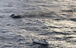 6 thuyền viên Việt Nam mất tích trong vụ cháy tàu cá ở Hàn Quốc