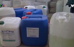 Đà Nẵng phát hiện cơ sở giặt ủi xả thải trực tiếp ra môi trường