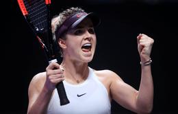 WTA Finals 2019: Vượt qua Belinda Bencic, Elina Svitolina giành vé vào chung kết