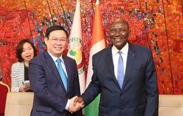 Việt Nam - Bờ Biển Ngà đẩy mạnh hợp tác thương mại