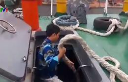 Tiếp tục tìm kiếm thuyền viên mất tích trên biển Hà Tĩnh