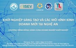Khởi nghiệp sáng tạo và các mô hình kinh doanh mới tại Nghệ An