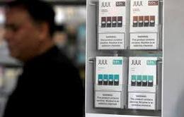 Thêm một bang ở Mỹ kiện hãng sản xuất thuốc lá điện tử Juul