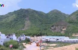 Khánh Hòa dừng thực hiện dự án trên khu vực đồi, núi