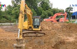 Đã khắc phục xong sự cố vỡ đường ống nước Sông Đà