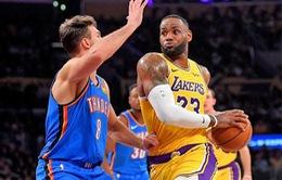 Lebron James tiếp tục thiết lập kỷ lục tại NBA