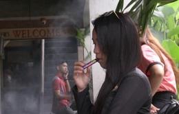 Philippines mạnh tay chống thuốc lá điện tử