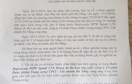 Quảng Nam yêu cầu ngừng sử dụng thuốc gây tê liên quan sự cố y khoa tại Đà Nẵng