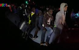 Giải cứu 73 người di cư trên biển Địa Trung Hải