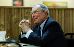 Tỷ phú Bloomberg nộp đơn đăng ký tranh cử Tổng thống Mỹ