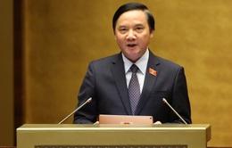 Quốc hội miễn nhiệm Chủ nhiệm Ủy ban Pháp luật Nguyễn Khắc Định