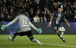 CẬP NHẬT Kết quả, BXH vòng 14 Ligue 1 ngày 23/11: PSG 2-0 Lille