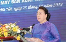 Chủ tịch Quốc hội thăm Khu công nghệ cao Hòa Lạc