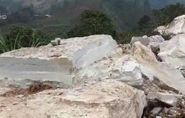 Tình trạng khai thác đá cảnh trái phép tại Yên Bái