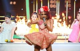Giám khảo Quang Linh dành lời khen tuyệt đối cho Nhật Thủy với màn hóa thân thành Rihanna