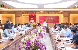 Ban chỉ đạo Trung ương về phòng chống tham nhũng làm việc tại Hà Tĩnh