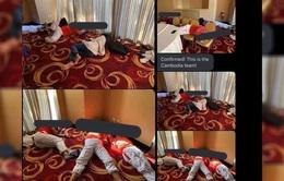 Khách sạn Philippines lý giải vì sao U22 Campuchia phải ngủ trên sàn