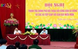 Thanh tra Chính phủ đối thoại với người dân xã Đồng Tâm, Hà Nội