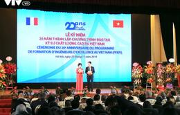 Đại học Xây dựng kỷ niệm 20 năm Chương trình đào tạo kỹ sư chất lượng cao tại Việt Nam