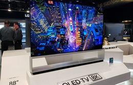 """TV OLED 8K của LG được bình chọn là """"TV của tương lai"""""""